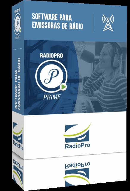 radiopro prime software para emissoras de rádio